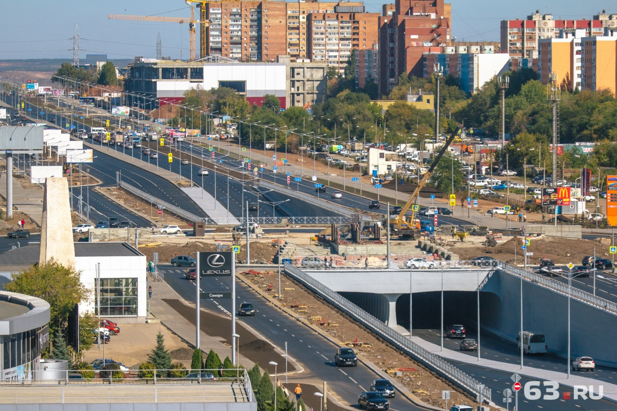 Нагендиректора ООО«Самаратрансстрой» завели уголовное дело из-за ремонта Московского шоссе