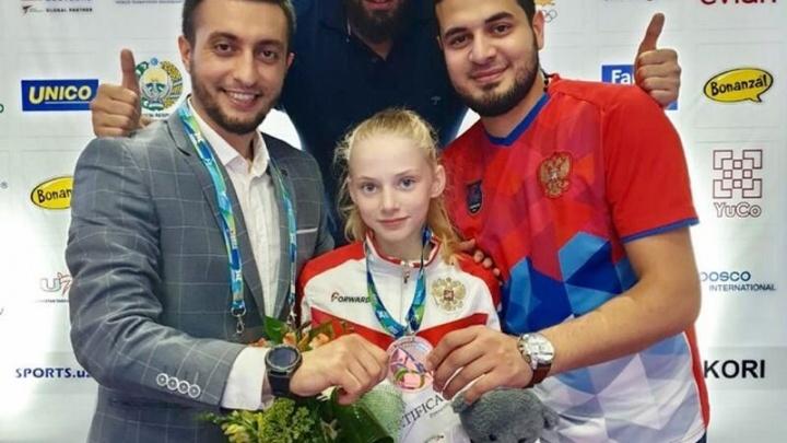 Спортсменка из Самарской области стала серебряным призером на чемпионате мира по тхэквондо