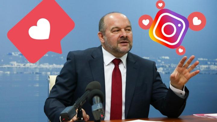 Мало лайков: Игорь Орлов оказался последним в рейтингеInstagram-популярности губернаторов
