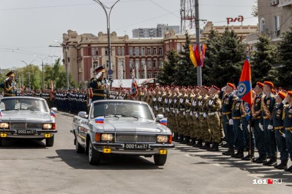 В параде Победы примут участие 3000 военнослужащих