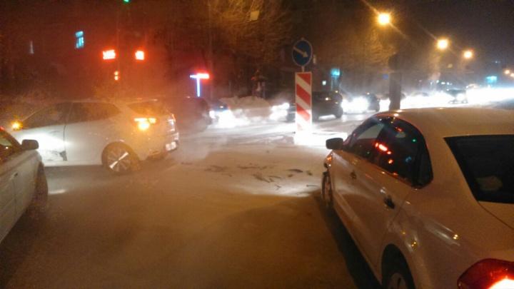 Аварию на Станиславского объяснили туманом и дымкой