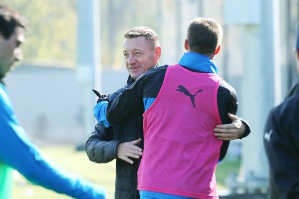 5 октября после тренировки Андрей Тихонов попрощался с игроками
