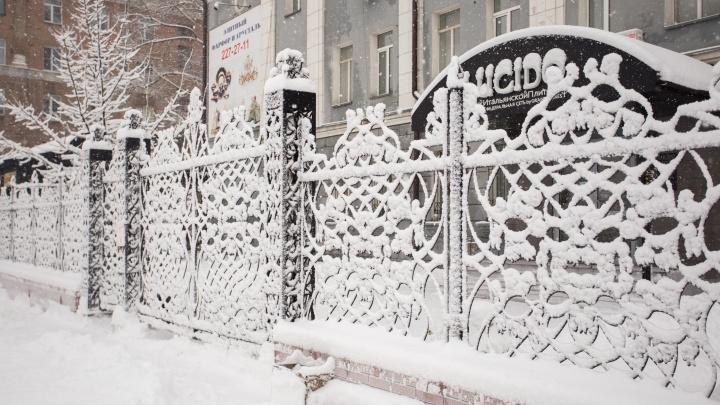 В Новосибирск возвращаются сильные снегопады