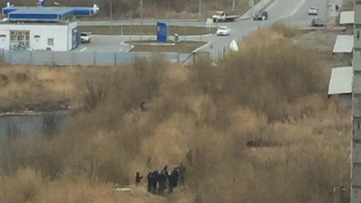 В Восточном округе нашли скелет человека