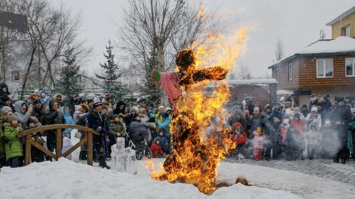 Экопарк «Раздолье» приглашает омичей на праздник Масленицы