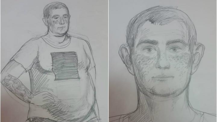 «Может находиться в Октябрьском районе»: полиция ищет хромого преступника по рисунку-фотороботу