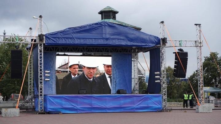 Победу Евгения Куйвашева на выборах отпразднуют митингом на площади Труда