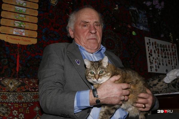 Анатолий Нечепуренко — один из детей войны, выросших в деревне Орлово Холмогорского района