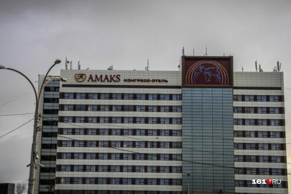 Высотку хотели построить возле отеляАmaks на площади Ленина