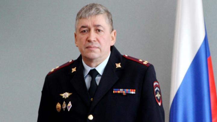 Александр Винников представил подчиненным нового начальника полиции