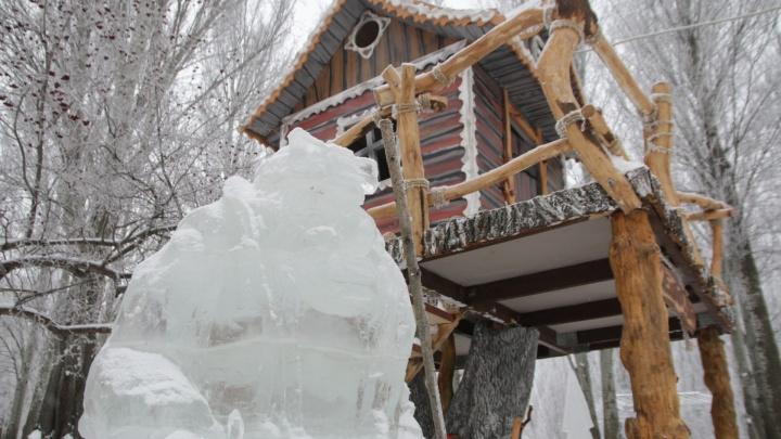 В парке Гагарина построят ледовый город, в котором прописались злодеи из русских сказок