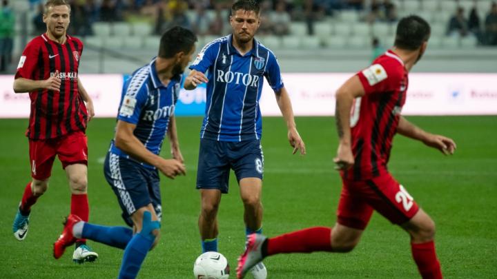 Волгоградский «Ротор» обыграл в гостях «Енисей» 3–0