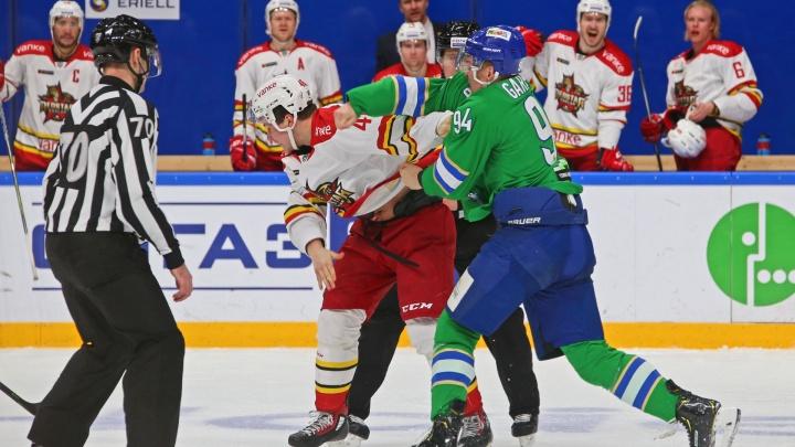 Два игрока «Салавата Юлаева» пропустят первый матч 2019 года
