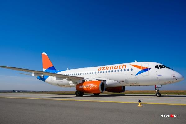 Задерживаются на вылет самолеты трех авиакомпаний, в том числе «Азимута»