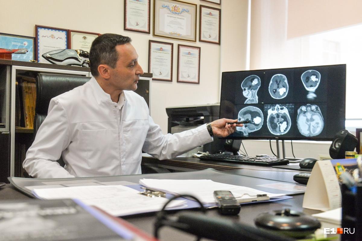По словам нейрохирурга, процент смертности при таких заболеваниях очень высокий