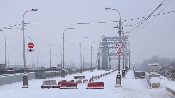 Дежавю прошлогодней давности: в Уфе перекроют старый Бельский мост