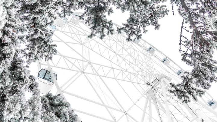 В Самаре подешевели поездки на колесе обозрения в парке Гагарина