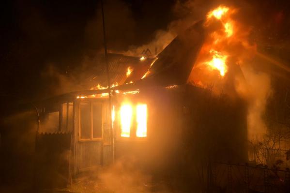 Жителя дома спасти не удалось