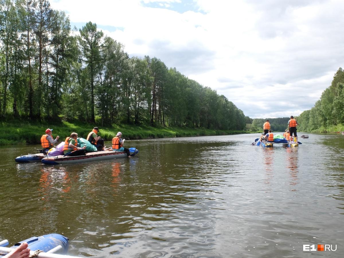 Такими вы нас еще не видели: как редакция E1.RU два дня сплавлялась по реке и выжила