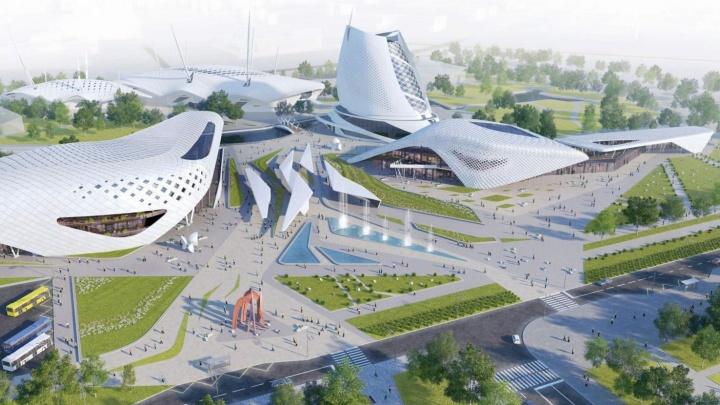 """На """"Иннопроме"""" покажут проект нового зоопарка на Новокольцовском тракте"""