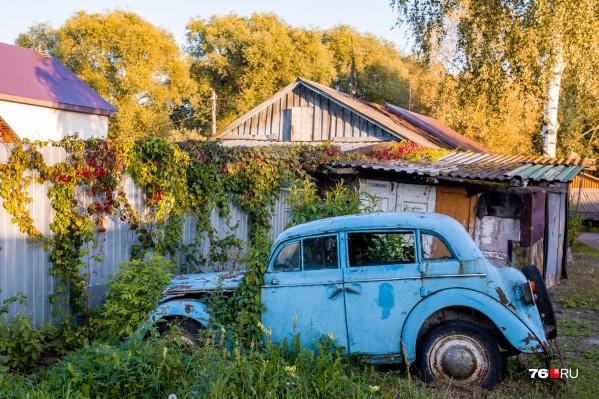 Этой машине около 70 лет