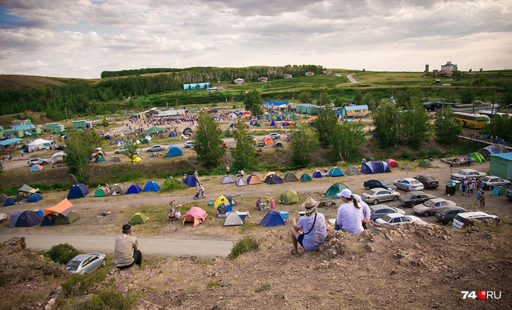 22 июня на «Аркаиме» каждый год собирается очень много людей