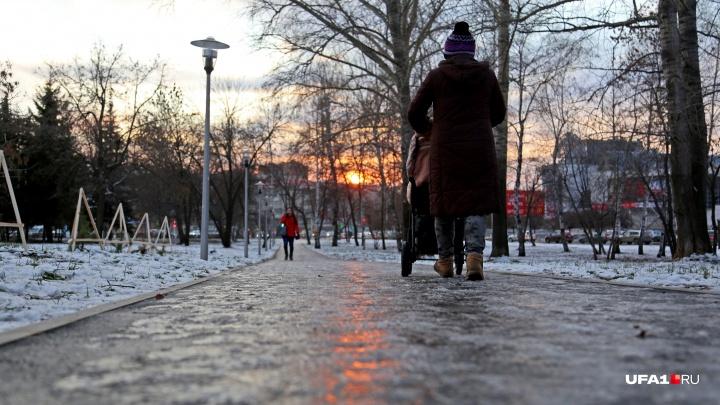 Двигайтесь, а то замерзнете: в ближайшие дни Башкирию ждут 33 погодных несчастья