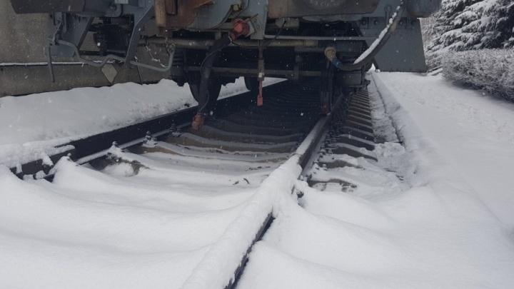 В Кургане электровоз отрезал мужчине ногу