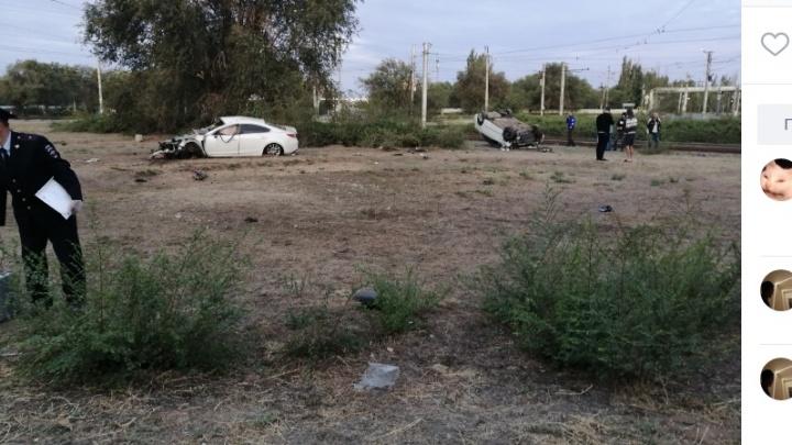 В Волгоградской области драка и перестрелка с погоней закончились смертельным ДТП