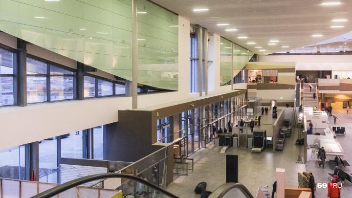 Магазин Duty Free в новом терминале пермского аэропорта откроется в ноябре
