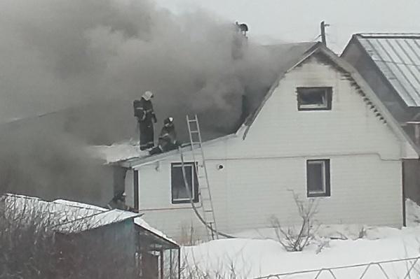 ЧП случилось на улице Линейной, 7 (ДНТ «Матмасское»)