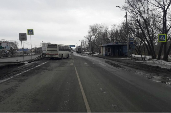 Дедушку сбили на пешеходном переходе на выезде из Челябинска