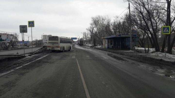 «Пешеход скончался»: в ГИБДД Челябинска рассказали о последствиях ДТП с автобусом