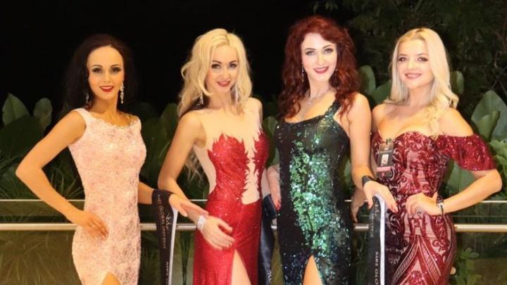 Сибирячки получили титулы на международном конкурсе красоты в Сингапуре