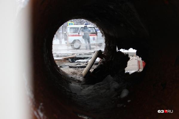 Трубу на Стара-Загоре прорвало дважды за три дня