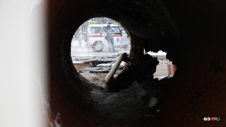 Самая крупная авария: в Самаре ещё раз переложат теплотрассу на Стара-Загоре — Ташкентской