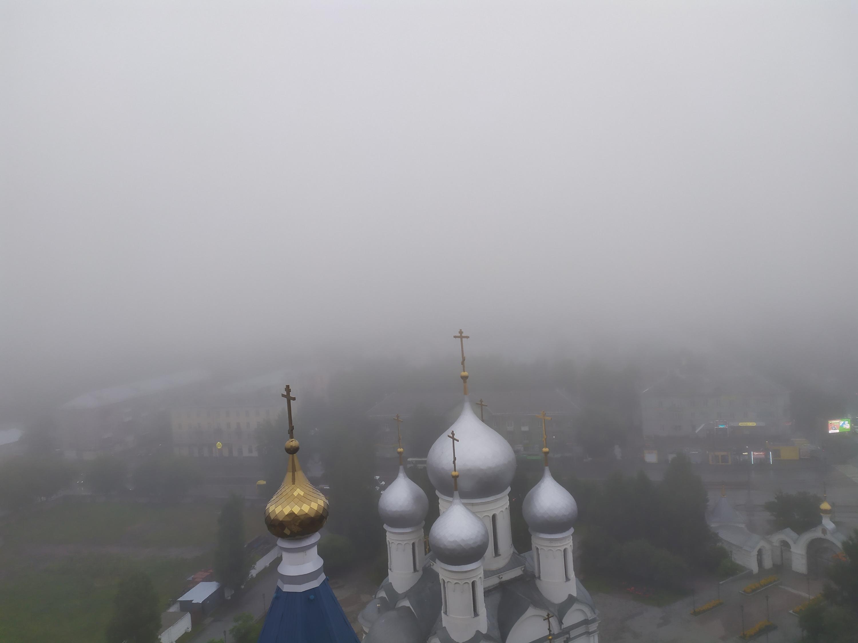 Вид на город с улицы Богдана Хмельницкого