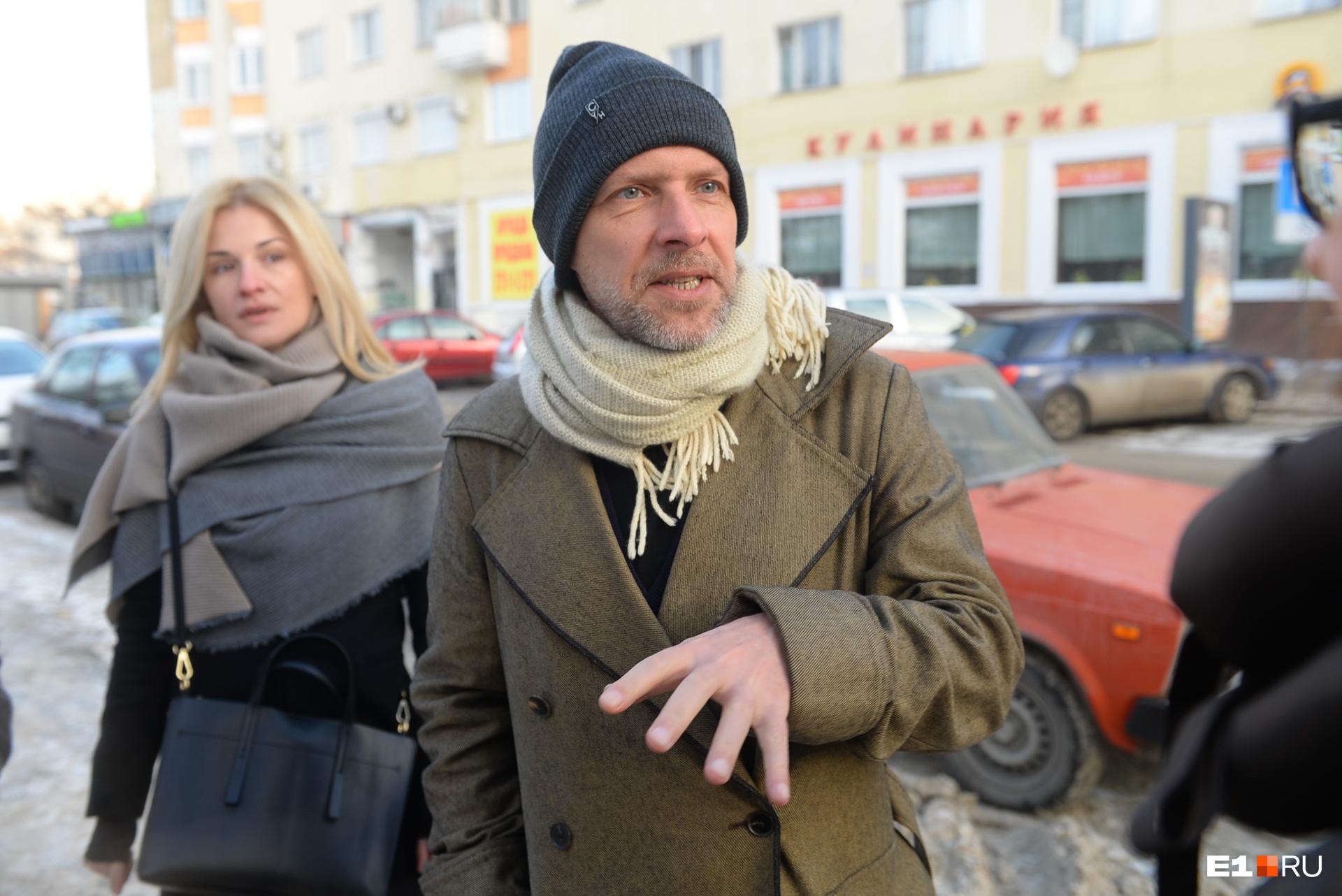 Когда мы говорили про Дом печати, Андреас отметил, что ему нравится, что здания в Екатеринбурге меняют своё предназначение