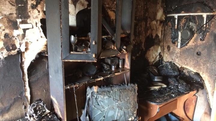 В Башкирии из горящей квартиры спасли трехлетнего ребенка
