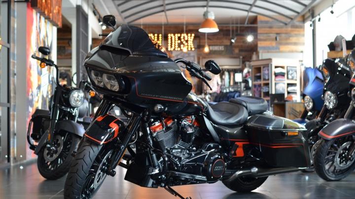 Беспроцентная рассрочка на покупку турера Harley-Davidson действует до конца ноября
