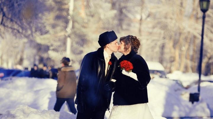 Свадьба за свадьбой: 14 февраля в Перми поженятся 103 пары