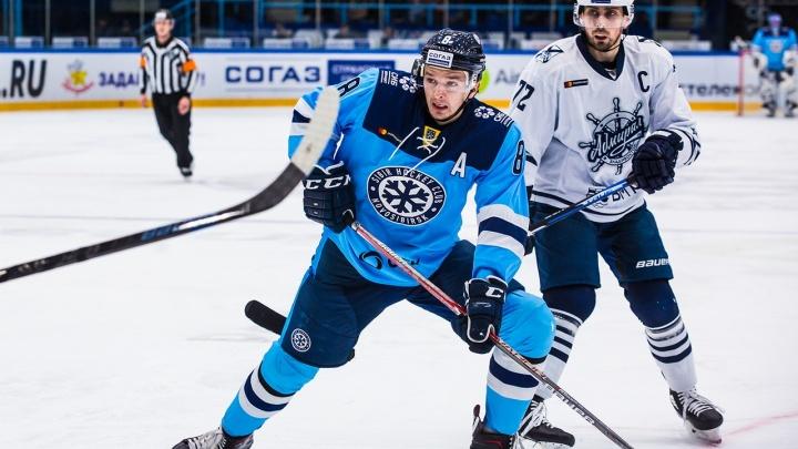 Хоккей: «Сибирь» проиграла владивостокскому «Адмиралу»