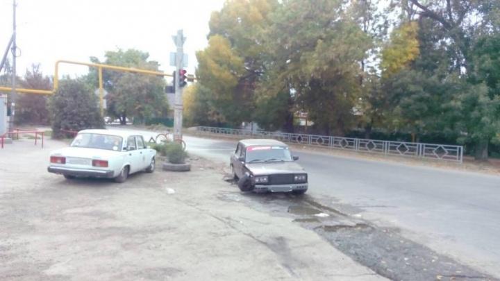 В Самаре «семерка» на буксире сбила велосипедиста