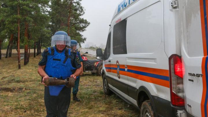 На южном склоне Мамаева кургана нашли авиабомбу