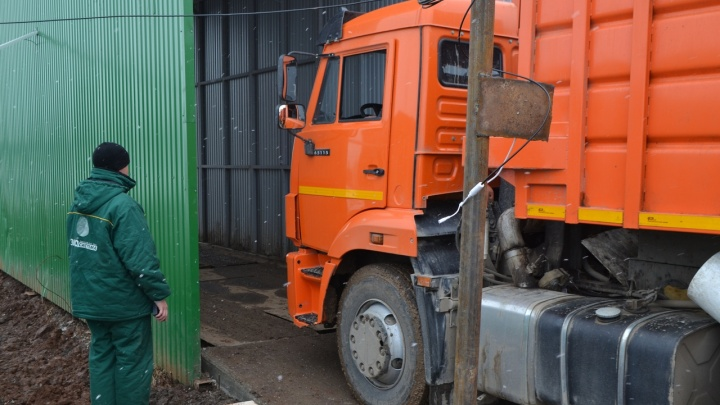 На мусорном полигоне в Кунгуре установили автомобильные весы. Для чего это необходимо?