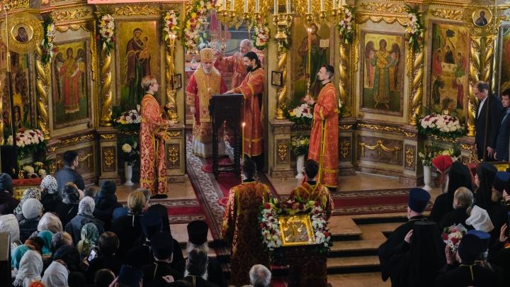 Пермь отметила Пасху: как в главном храме города прошло праздничное богослужение