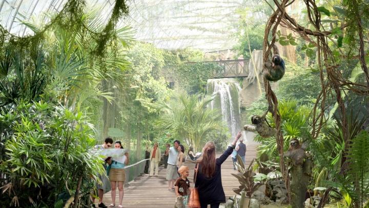 На «Иннопроме» назвали новую дату начала строительства огромного зоопарка за 5 миллиардов