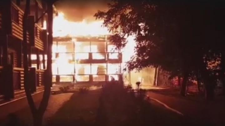 В Одессе загорелся оздоровительный лагерь, погибли трое детей