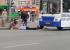 На остановке «Токарей» автобус сбил пешеходов. Пострадали двое