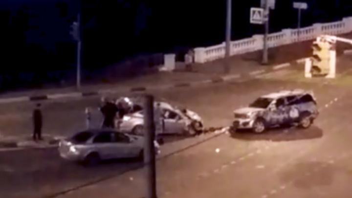 ДТП на Которосльном мосту: в реанимацию попала 20-летняя девушка